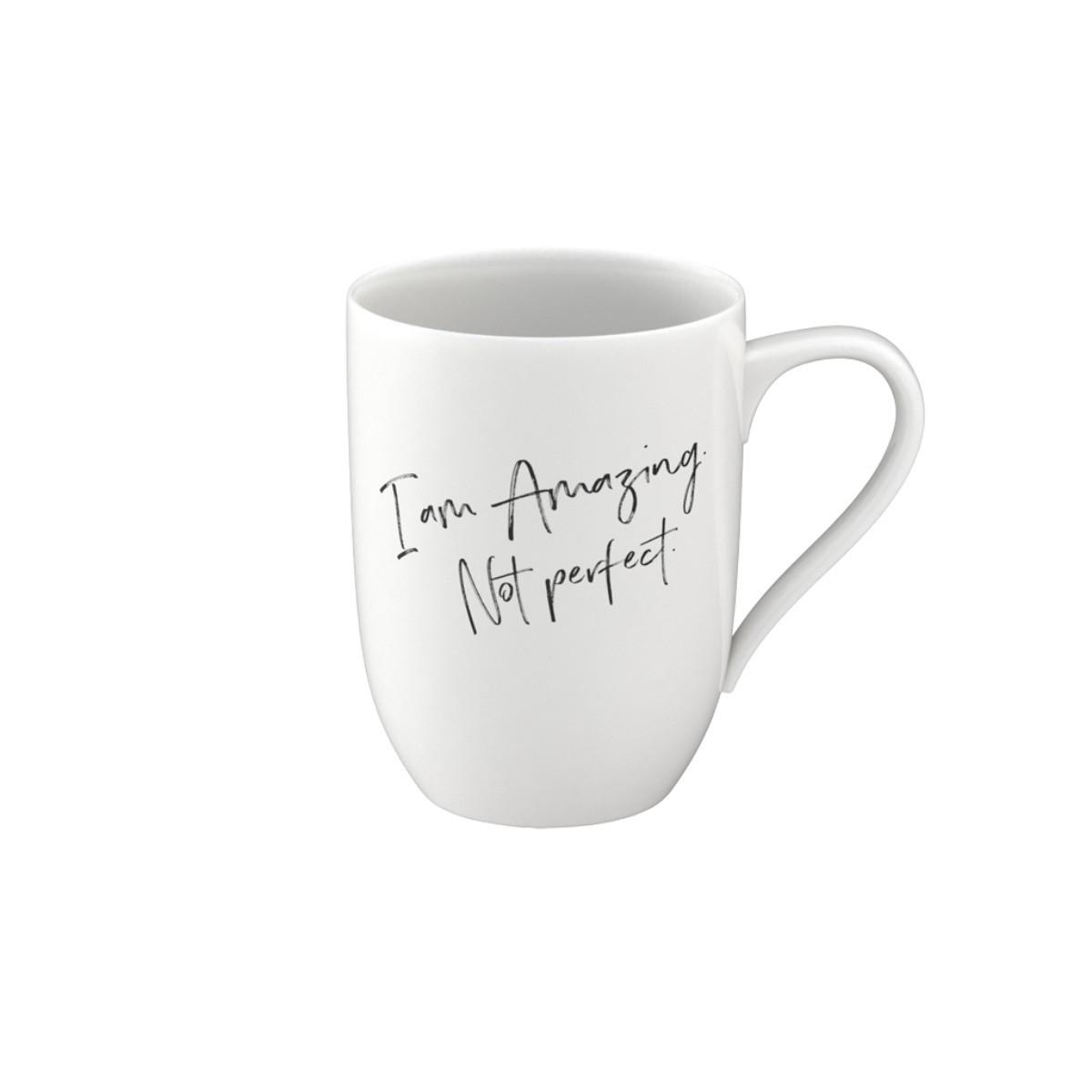 Statement Mug Amazing Not Perfect