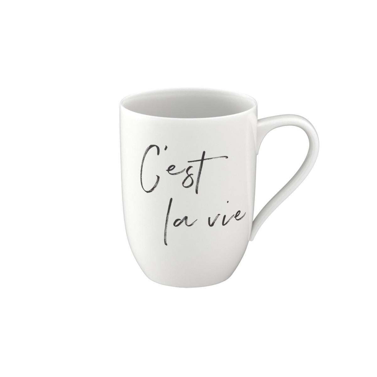 Statement Mug C est la vie