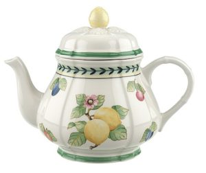 French Garden Fleurence Teapot 1L