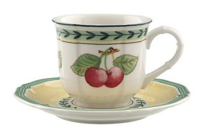 French Garden Fleurence Espresso Cup& Saucer 100ml