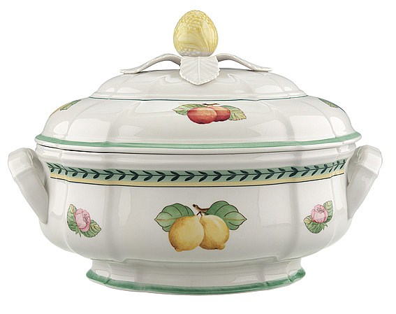 French Garden Fleurence Oval Soup Tureen 2.5L