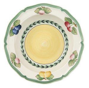 French Garden Fleurence Deep Plate 20cm