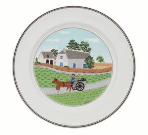 Design Naif Farmer Flat Plate 27cm