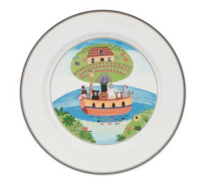 Design Naif Noah's Ark Flat Plate 27cm