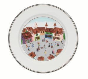 Design Naif Village Salad Plate 21cm