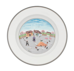 Design Naif Poultry Farm Deep Plate 21cm