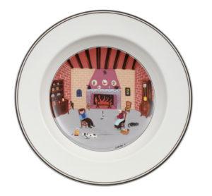 Design Naif Fireplace Deep Plate 21cm