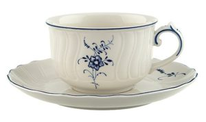 Vieux Luxembourg Tea Cup & Saucer 200ml