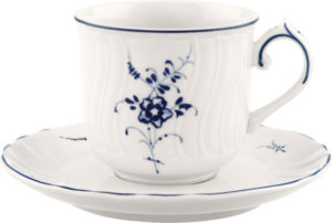 Vieux Luxembourg Espresso Cup & Saucer100ml