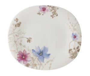 Mariefleur Gris Oval Flat Plate 29x25cm