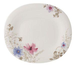 Mariefleur Gris Gourmet Plate 32x28cm