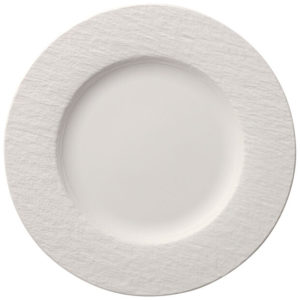Manufacture Rock Blanc Flat Plate 27cm