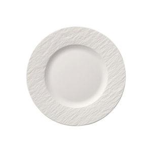 Manufacture Rock Blanc Salad Plate 22cm
