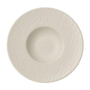 Manufacture Rock Blanc Pasta Plate 28cm