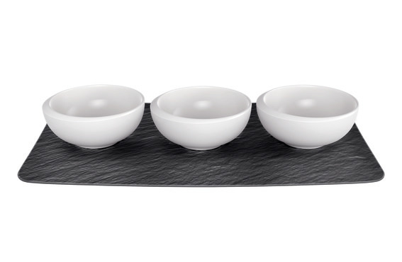 NewMoon Dip Bowl Set of 4 8.5cm