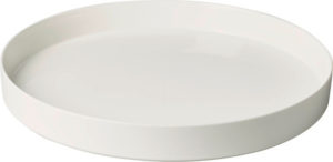 Metro Chic Blanc Decorative Bowl 33cm
