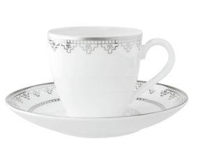 White Lace Espresso cup&saucer 2pcs