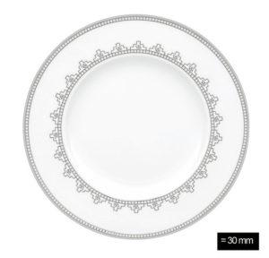 White Lace Bread & Butter plate 16cm D