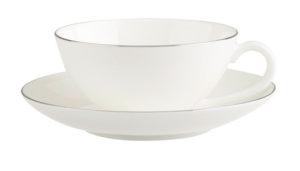Anmut Platinum No 1 Tea Cup & Saucer 200ml