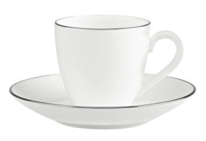 Anmut Platinum No 1 Espresso Cup & Saucer 100ml
