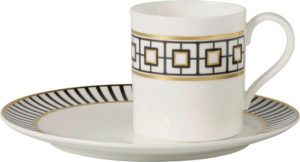 Metro Chic Espresso Cup & Saucer 80ml