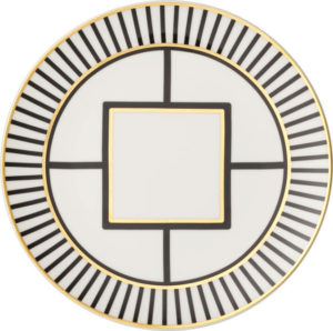 Metro Chic Breakfast Plate 22cm