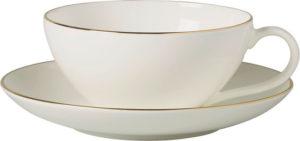 Anmut Gold Tea Cup & Saucer 200ml