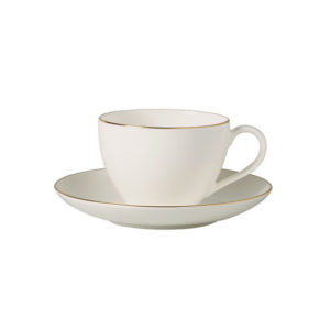 Anmut Gold Coffee Cup & Saucer 200ml