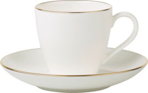Anmut Gold Espresso Cup & Saucer 100ml