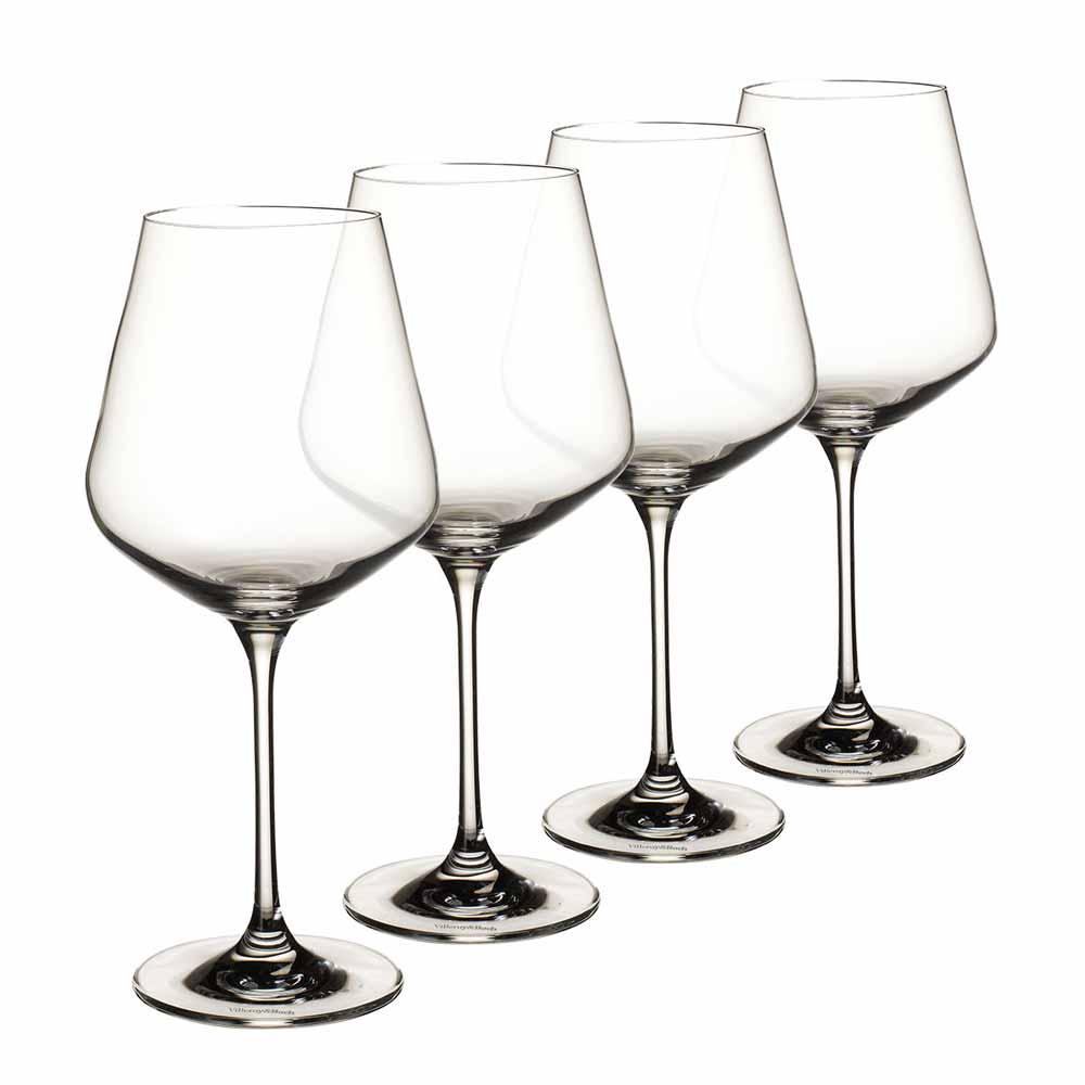 La Divina Burgundy Goblet Set of 4 680ml