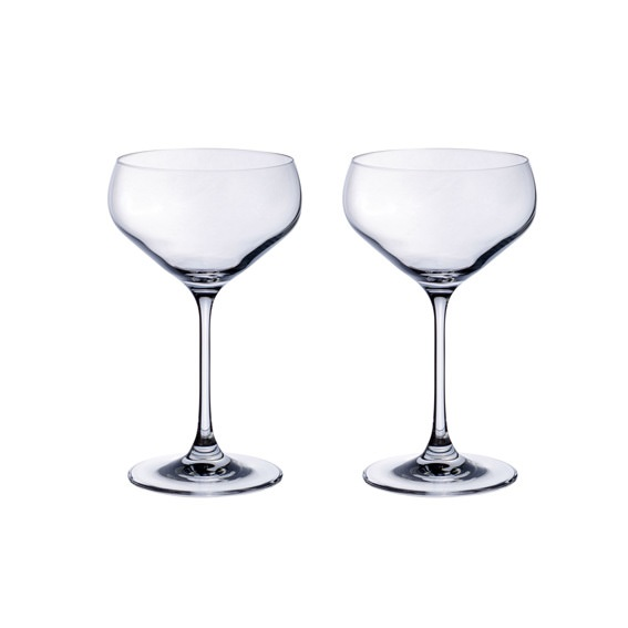 Purismo Champagne Coup Set 2PC