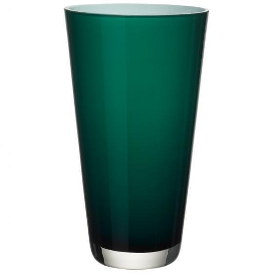 Verso Vase Large Emerald Green