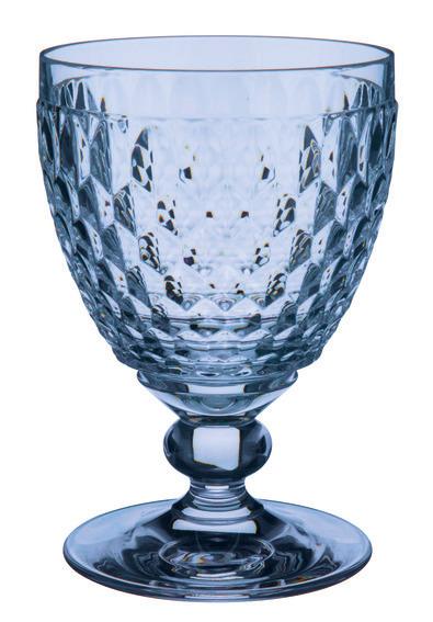 Boston Red Wine Goblet Blue 310ml