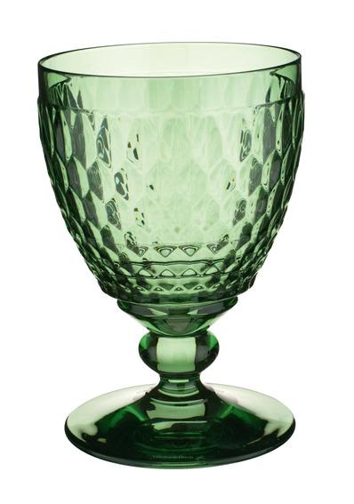Boston Red Wine Goblet Green 310ml