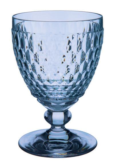 Boston Water Goblet Blue 400ml