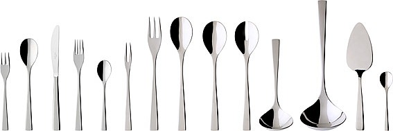 Modern Grace Besteck Cutlery Set 70PC