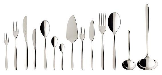 SoftWave Cutlery Set 113 Piece