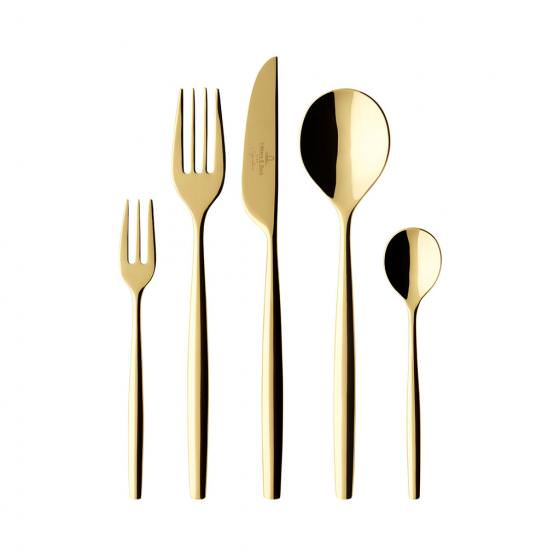 Metro Chic d'Or Cutlery Set 30PC