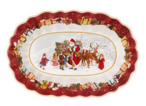Toy's Fantasy Bowl Oval large Santa Kids