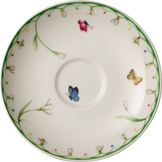 Colourful Spring Coffee Saucer 14cm