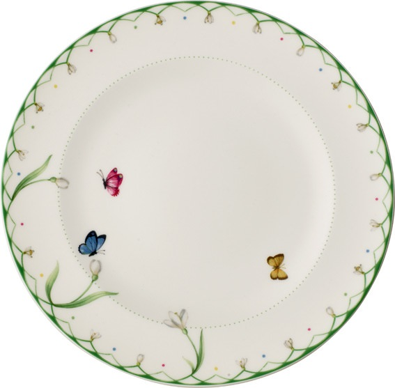Colourful Spring Flat Plate 27cm