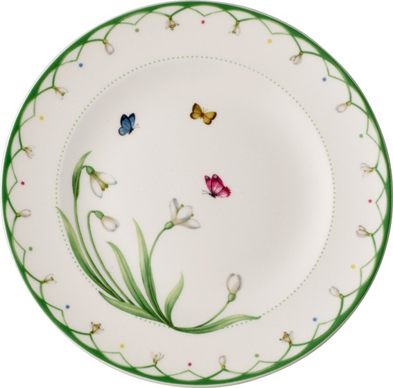 Colourful Spring Salad Plate 22cm
